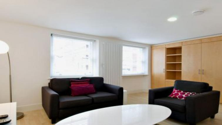 Nice living area in 38 James Street - Citybase Apartments