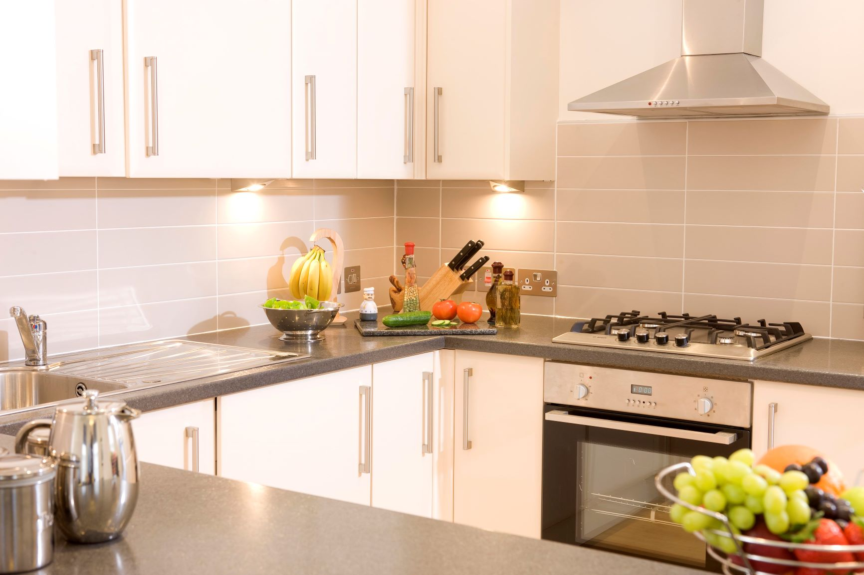 Kitchen at Inverness High Street Apartments, Centre, Inverness - Citybase Apartments