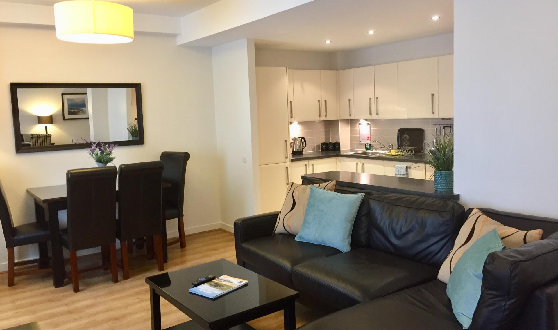 Open-plan at Inverness High Street Apartments, Centre, Inverness - Citybase Apartments