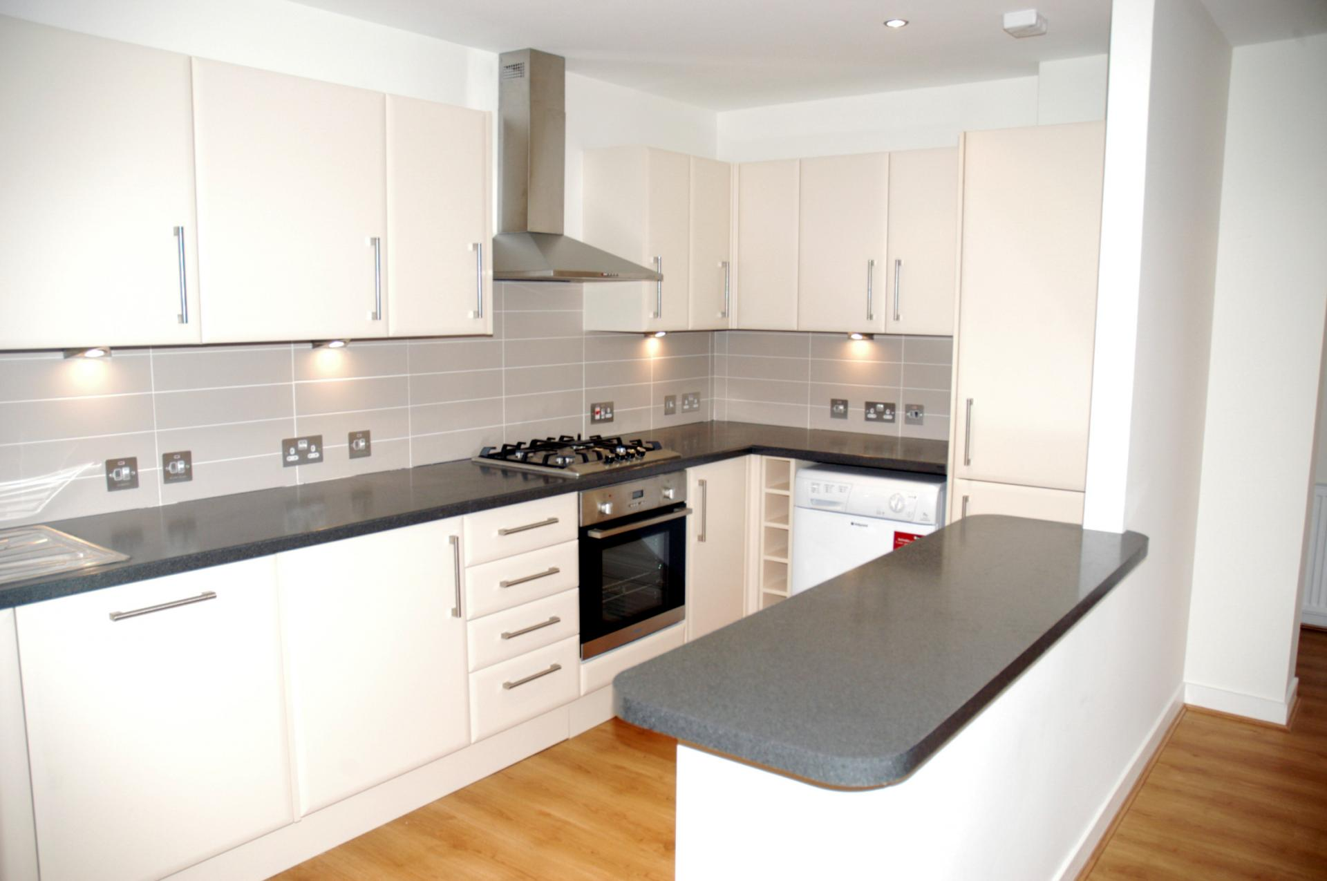 Modern kitchen at Inverness High Street Apartments, Centre, Inverness - Citybase Apartments