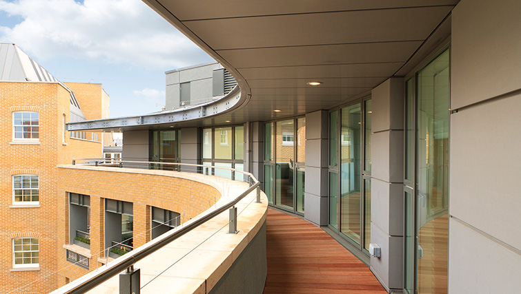Balcony at SACO Covent Garden - St Martin's - Citybase Apartments