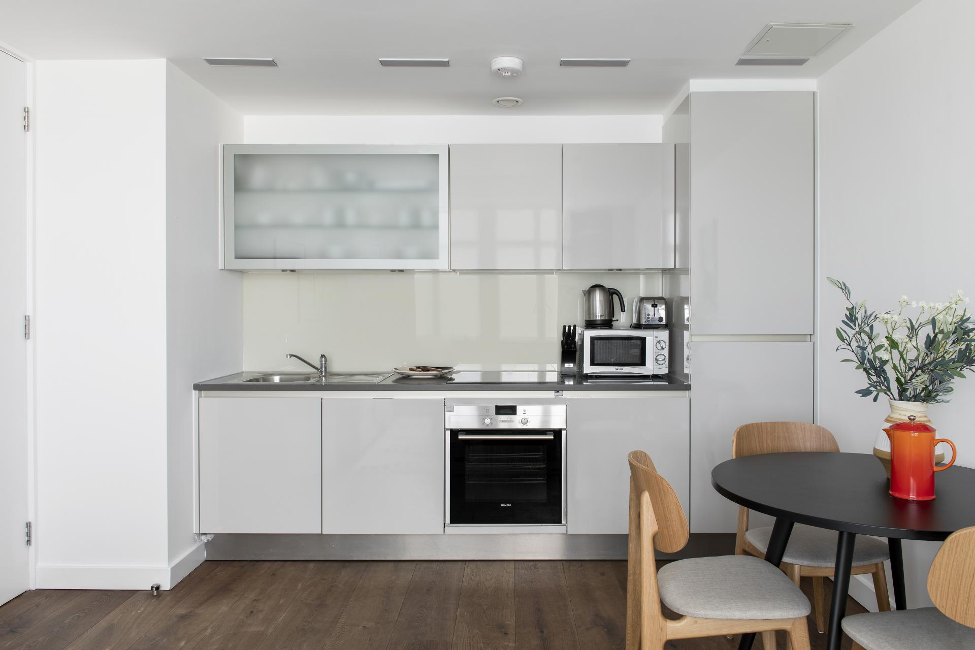Kitchen at Cove St Martin's, Covent Garden, London - Citybase Apartments
