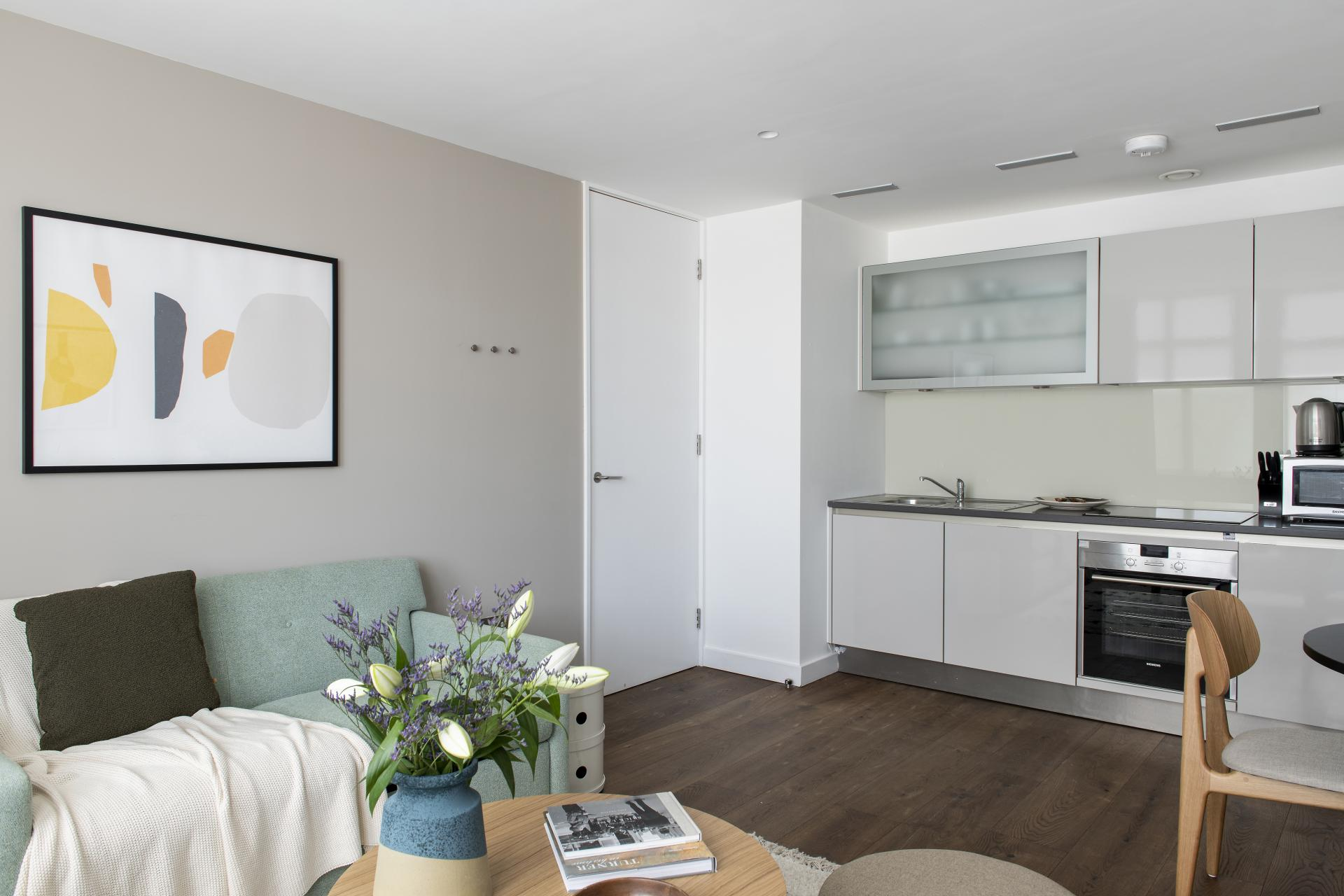 Living area at Cove St Martin's, Covent Garden, London - Citybase Apartments