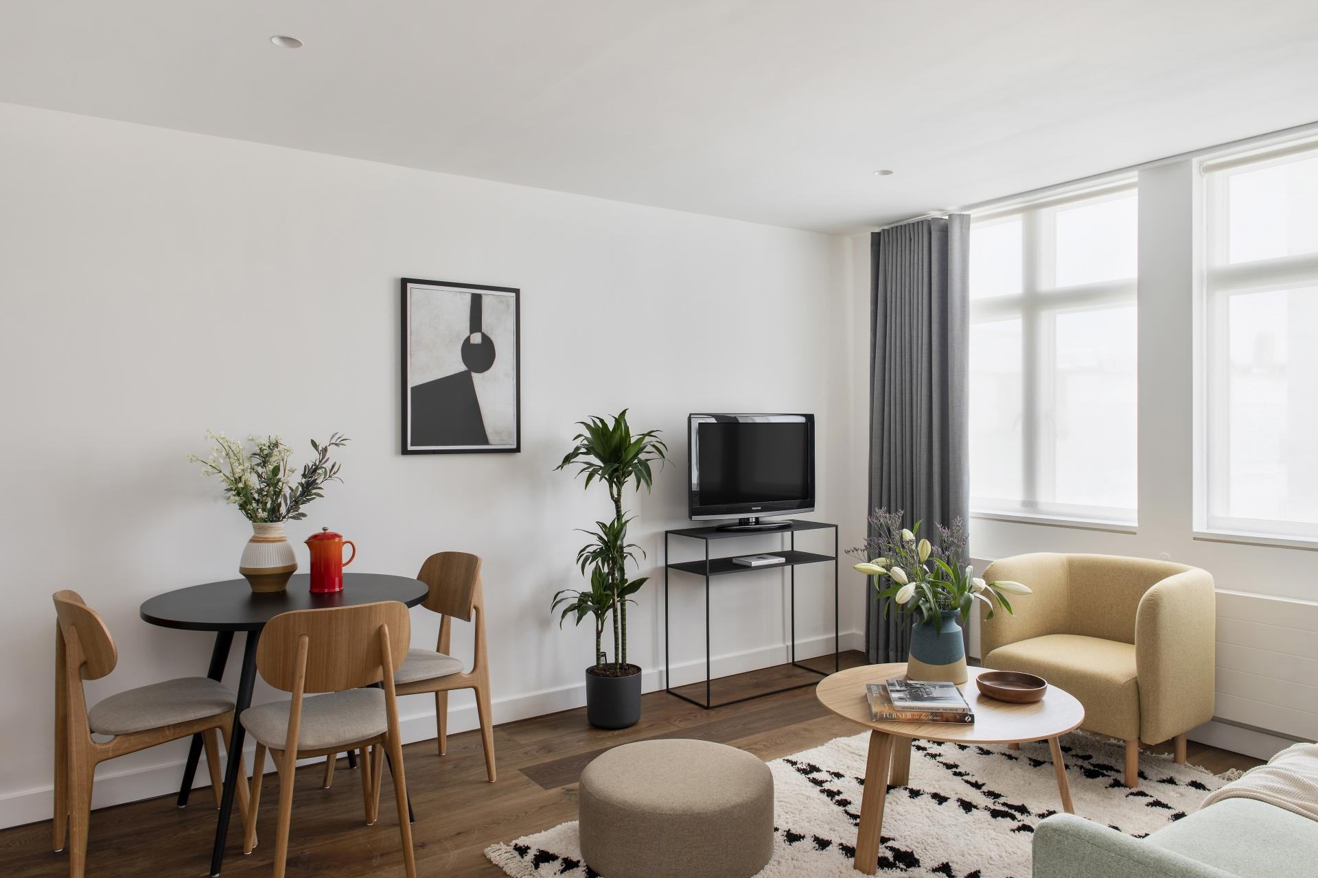 Living room at Cove St Martin's, Covent Garden, London - Citybase Apartments