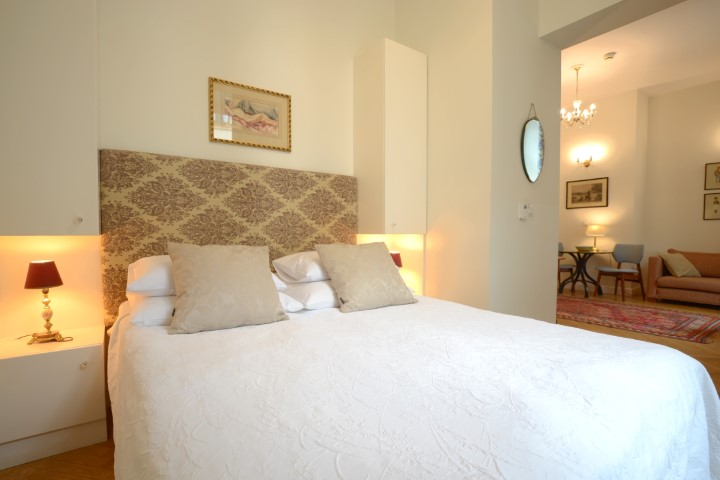 Luxurious bed spread at Krakow Old Town Apartments - Citybase Apartments