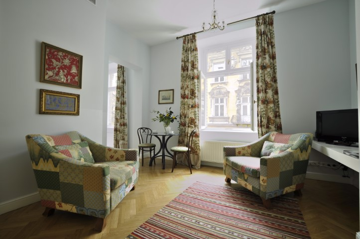 Armchairs at Krakow Old Town Apartments - Citybase Apartments