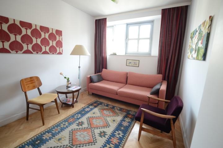 Aztec rug at Krakow Old Town Apartments - Citybase Apartments