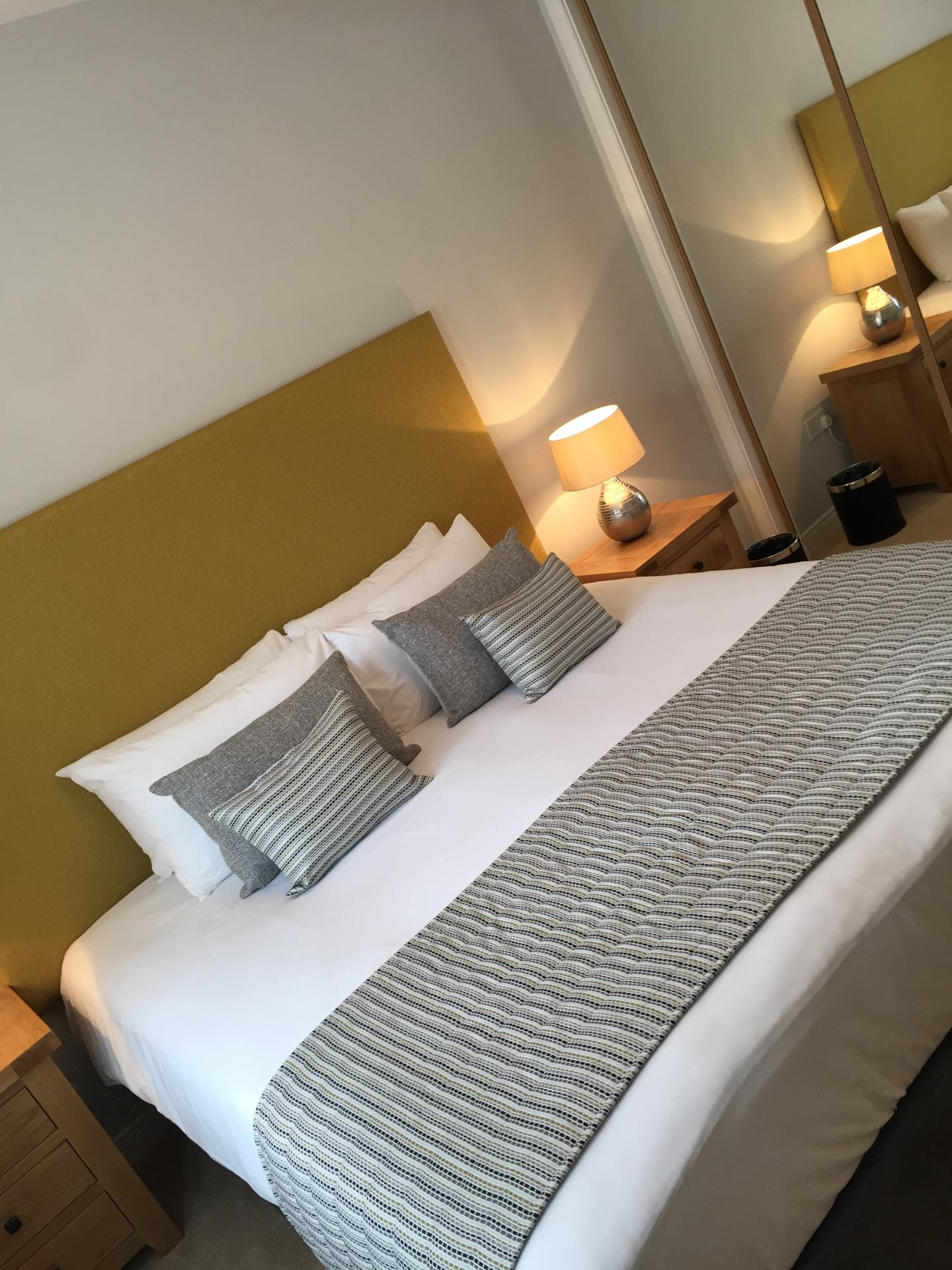 Bedroom at Hedgefield Apartments, Centre, Inverness - Citybase Apartments
