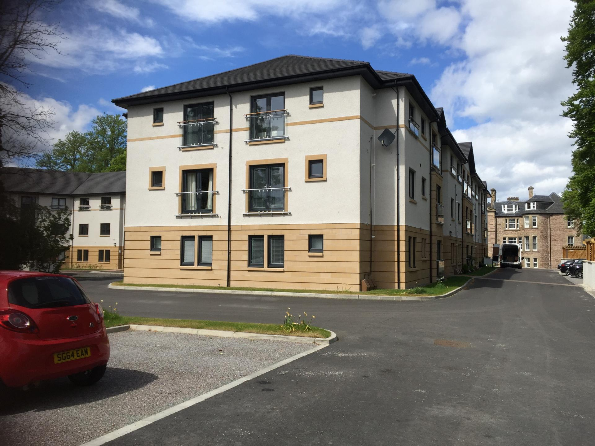 Exterior of Hedgefield Apartments, Centre, Inverness - Citybase Apartments