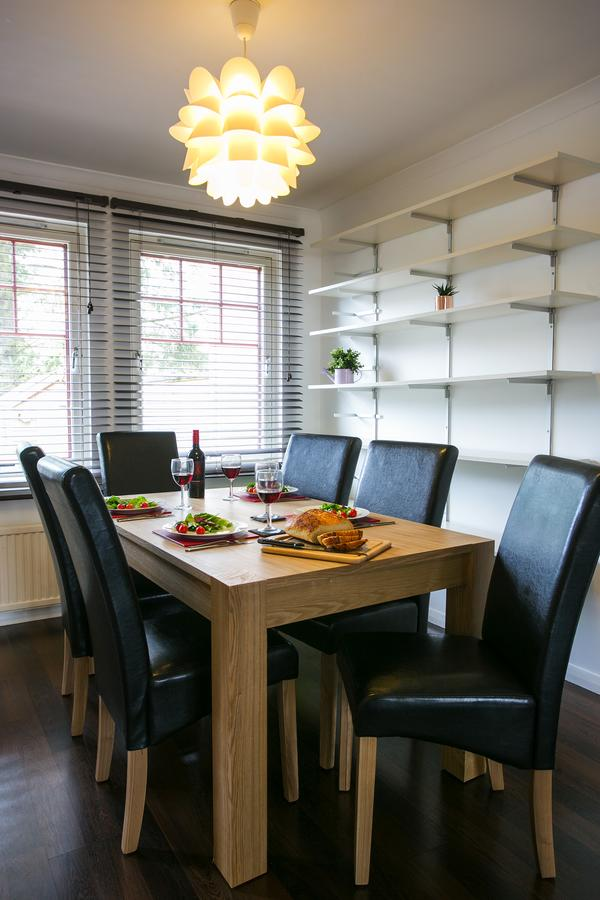 Dining area at Allenvale Gardens House, Ruthrieston, Aberdeen - Citybase Apartments