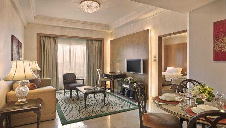 Living room at Shangri-La Apartments Singapore - Citybase Apartments