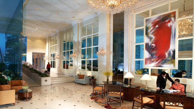 Lobby area at Shangri-La Apartments Singapore - Citybase Apartments