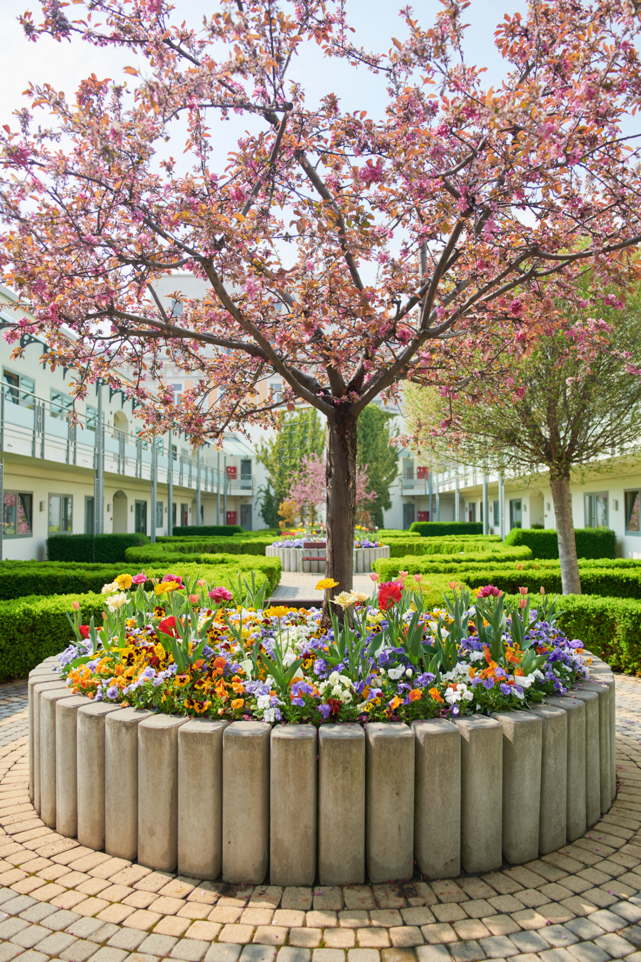 Garden at Corinthia Hotel and Apartments Budapest, Centre, Budapest - Citybase Apartments