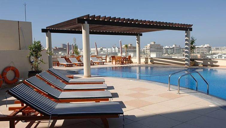 Plush pool in Metro Deira Apartments - Citybase Apartments