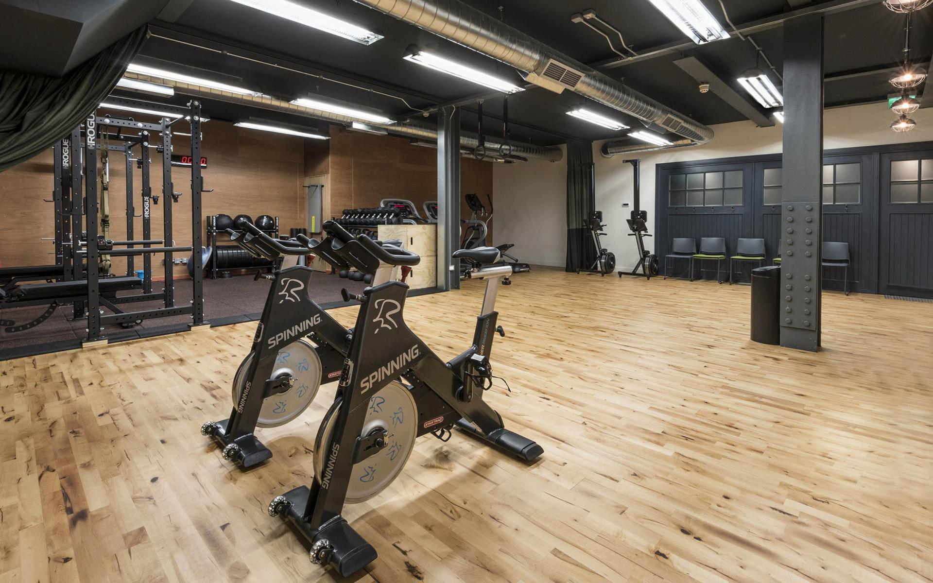 Gym at Cheval Old Town Chambers, Old Town, Edinburgh - Citybase Apartments