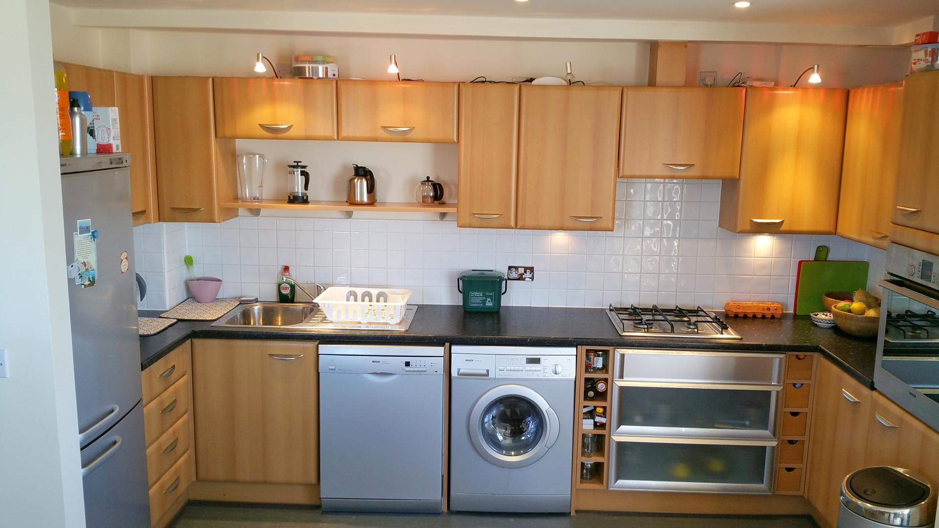 Kitchen at Central Station Apartment, Mill Road, Cambridge - Citybase Apartments