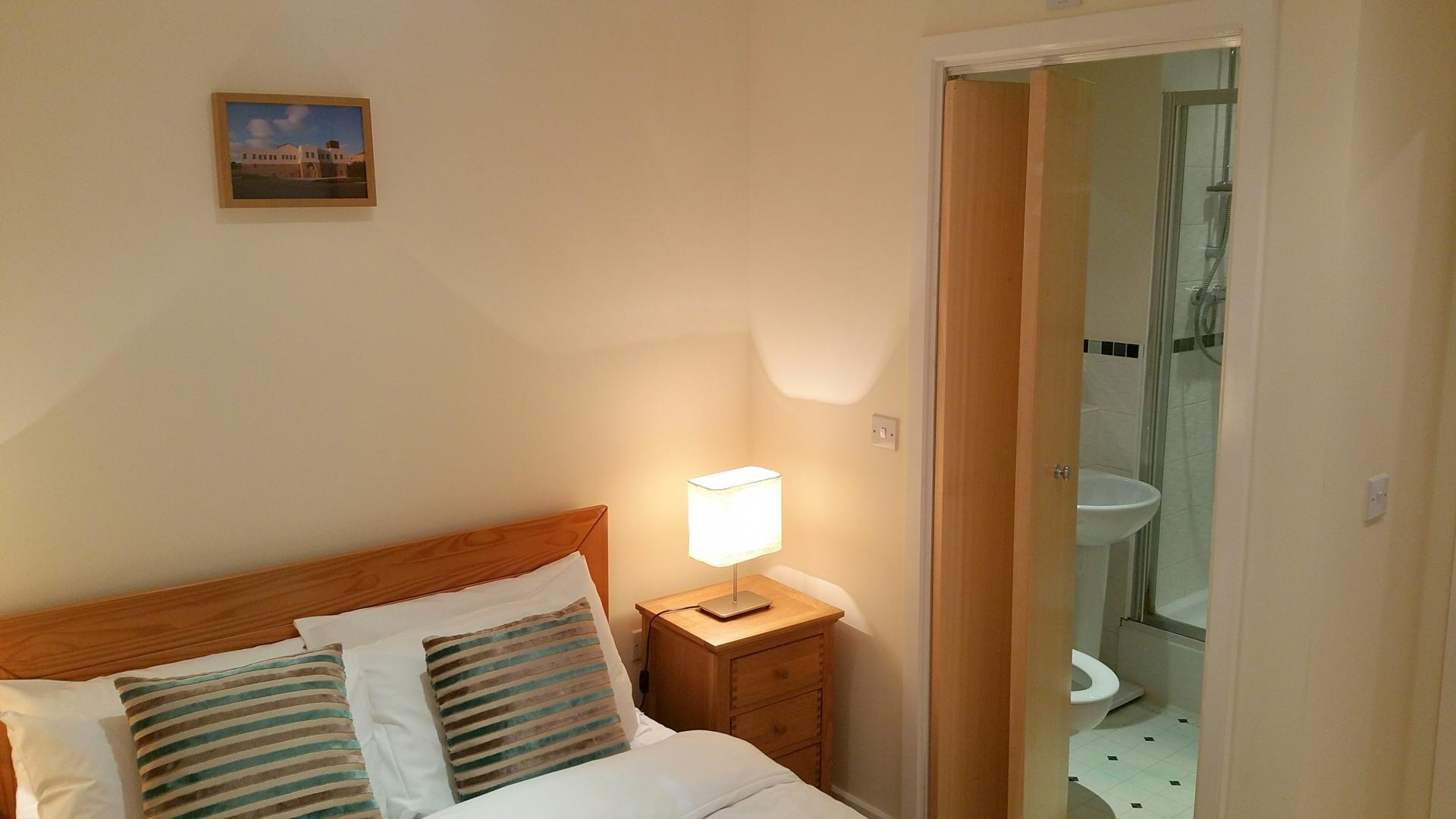 Bedroom at Central Station Apartment, Mill Road, Cambridge - Citybase Apartments
