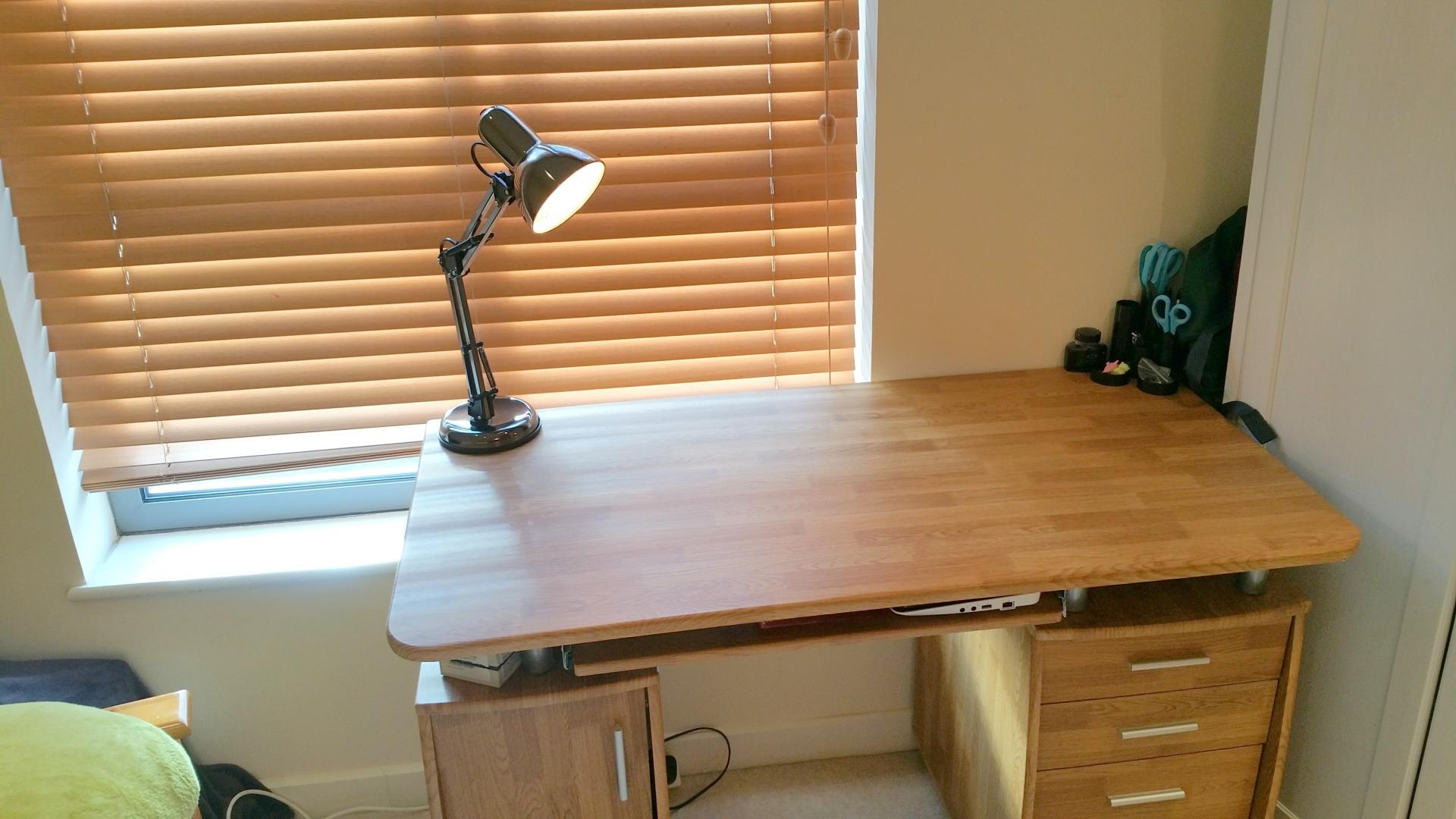 Work desk at Central Station Apartment, Mill Road, Cambridge - Citybase Apartments