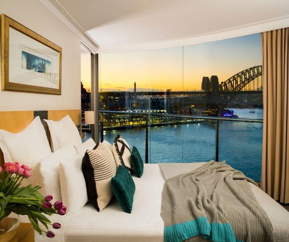Bedroom at Pullman Quay Grand Apartments - Citybase Apartments