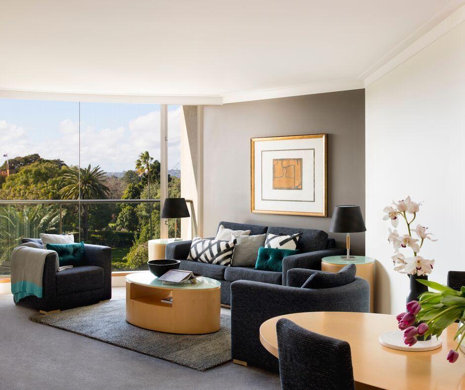 Lounge at Pullman Quay Grand Apartments - Citybase Apartments