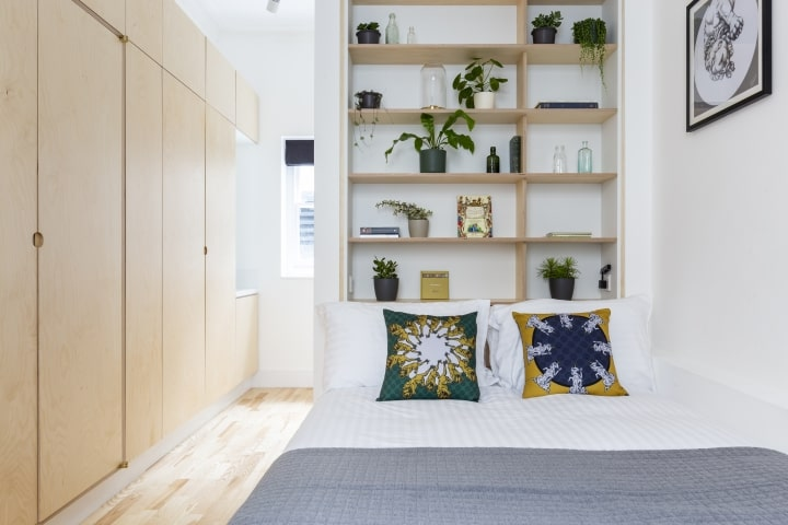 Bed at Bloomsbury Holborn Apartments, Holborn, London - Citybase Apartments
