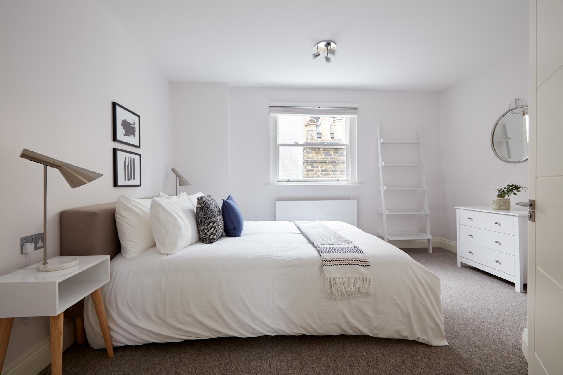 Bedroom at Virginia House Apartments, Fitzrovia, London - Citybase Apartments