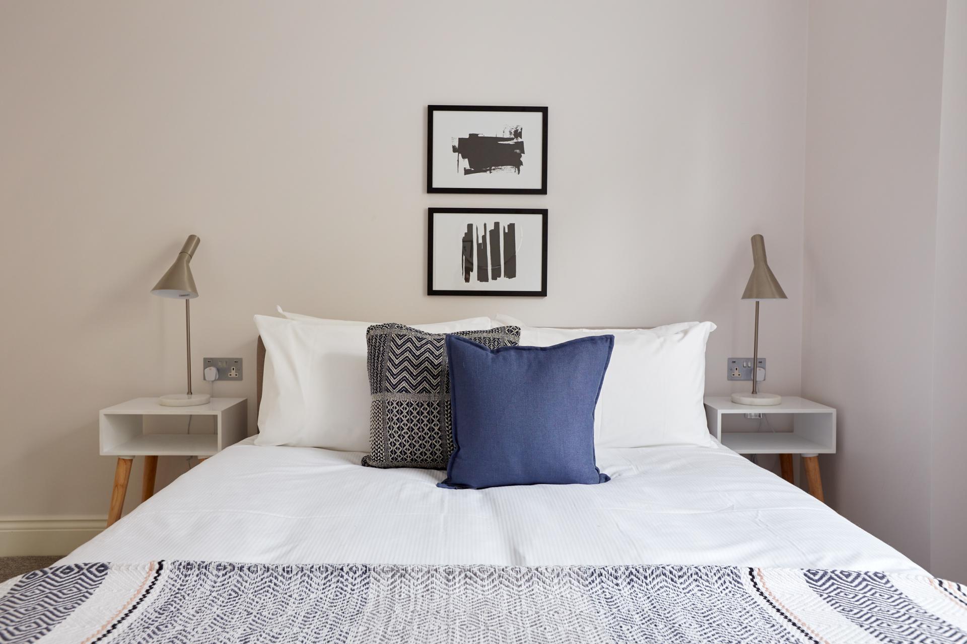 Bedding at Virginia House Apartments, Fitzrovia, London - Citybase Apartments