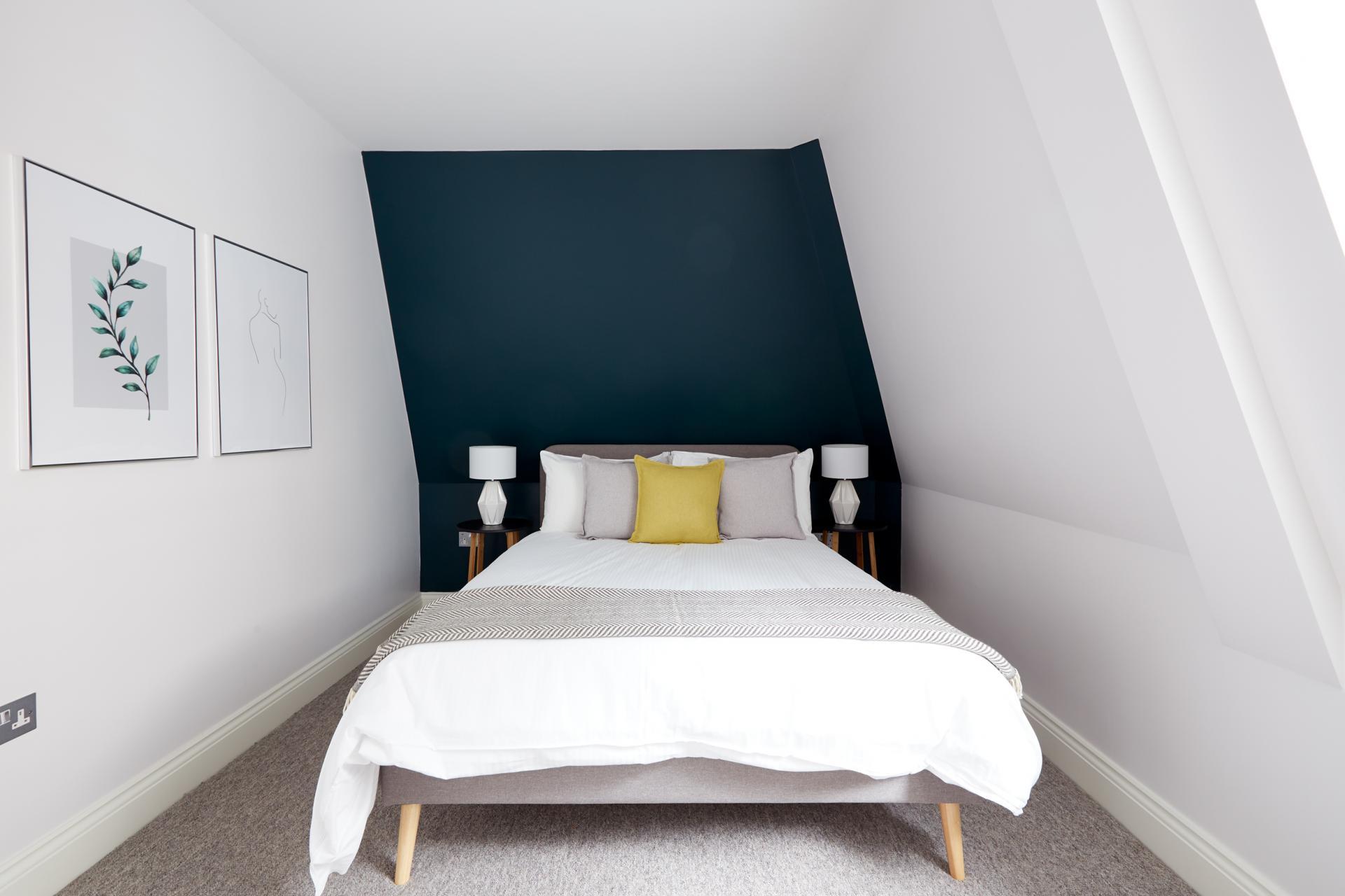 Bed at Virginia House Apartments, Fitzrovia, London - Citybase Apartments