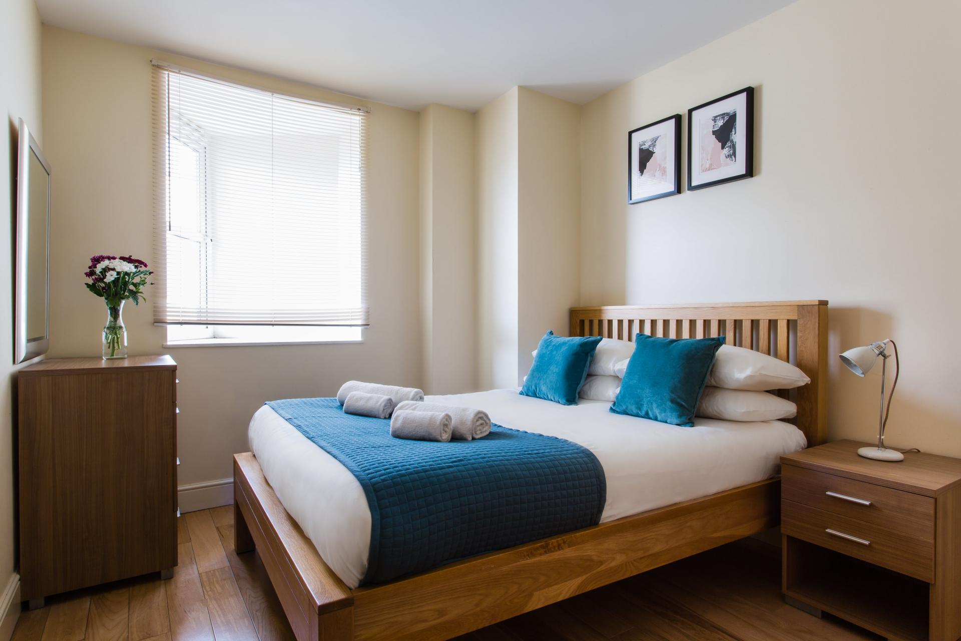 Bedroom at Reading Central Apartments, Centre, Reading - Citybase Apartments