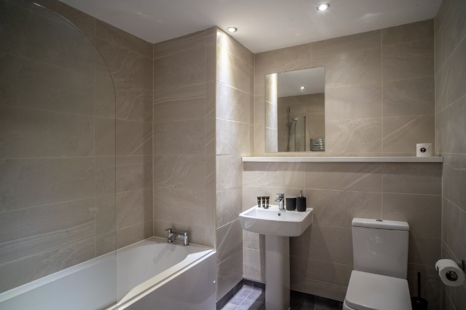 Bathroom at Dream Apartments Silkhouse Court, Centre, Liverpool - Citybase Apartments