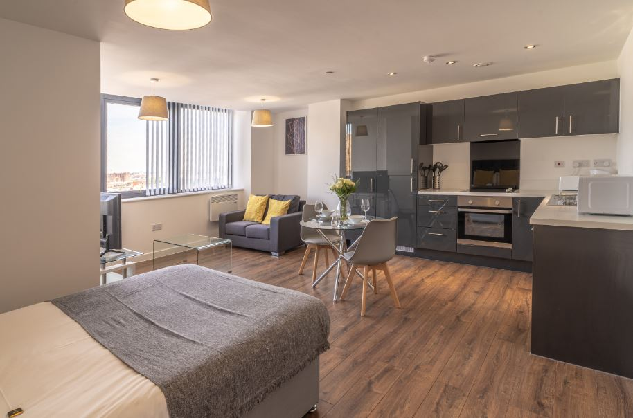 Studio at Dream Apartments Silkhouse Court, Centre, Liverpool - Citybase Apartments
