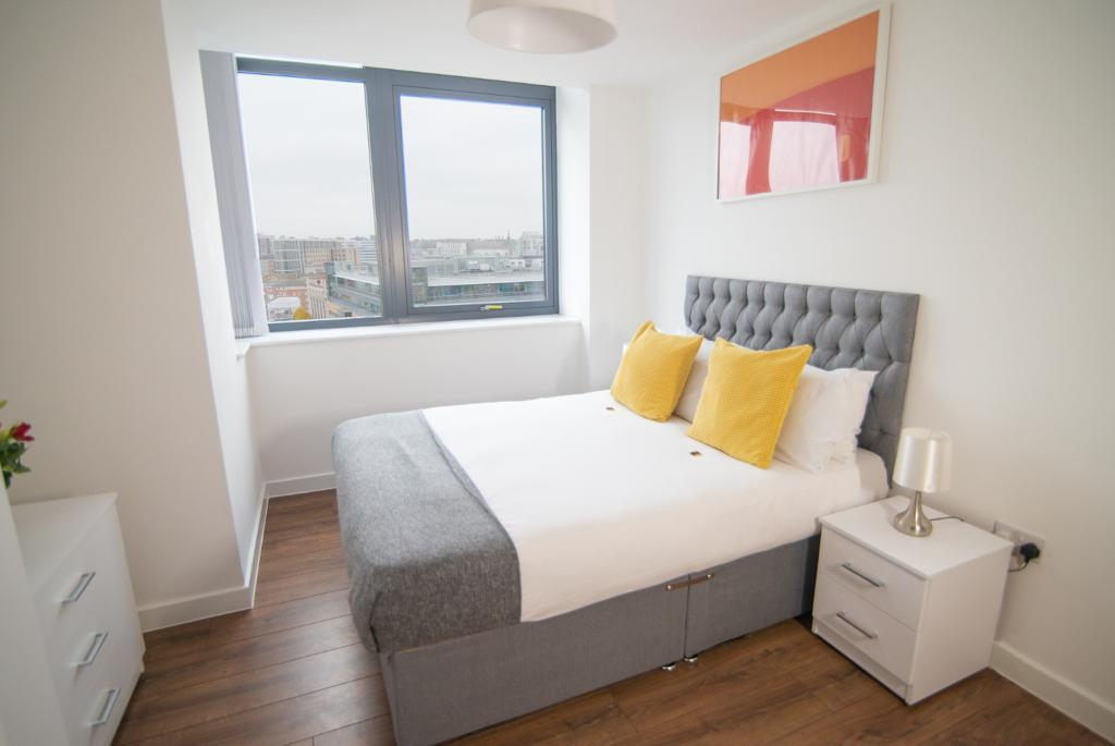 Bedroom at Dream Apartments Silkhouse Court, Centre, Liverpool - Citybase Apartments