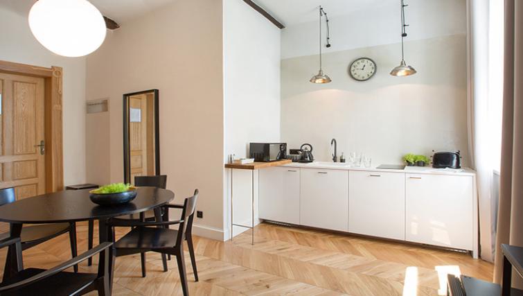Kitchen at Antique Apartments - Citybase Apartments