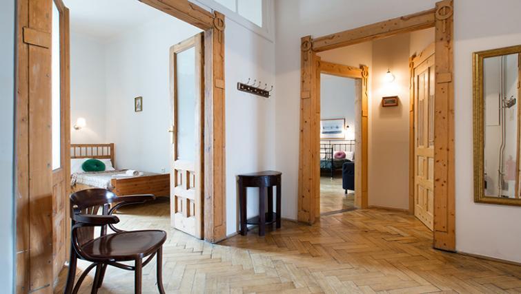Hallway at Antique Apartments - Citybase Apartments
