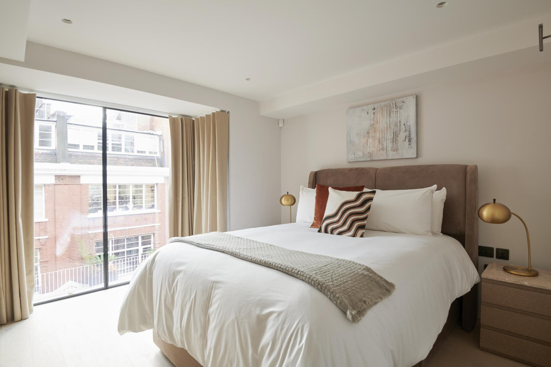 Bedroom at Maddox Suites, Carnaby, London - Citybase Apartments