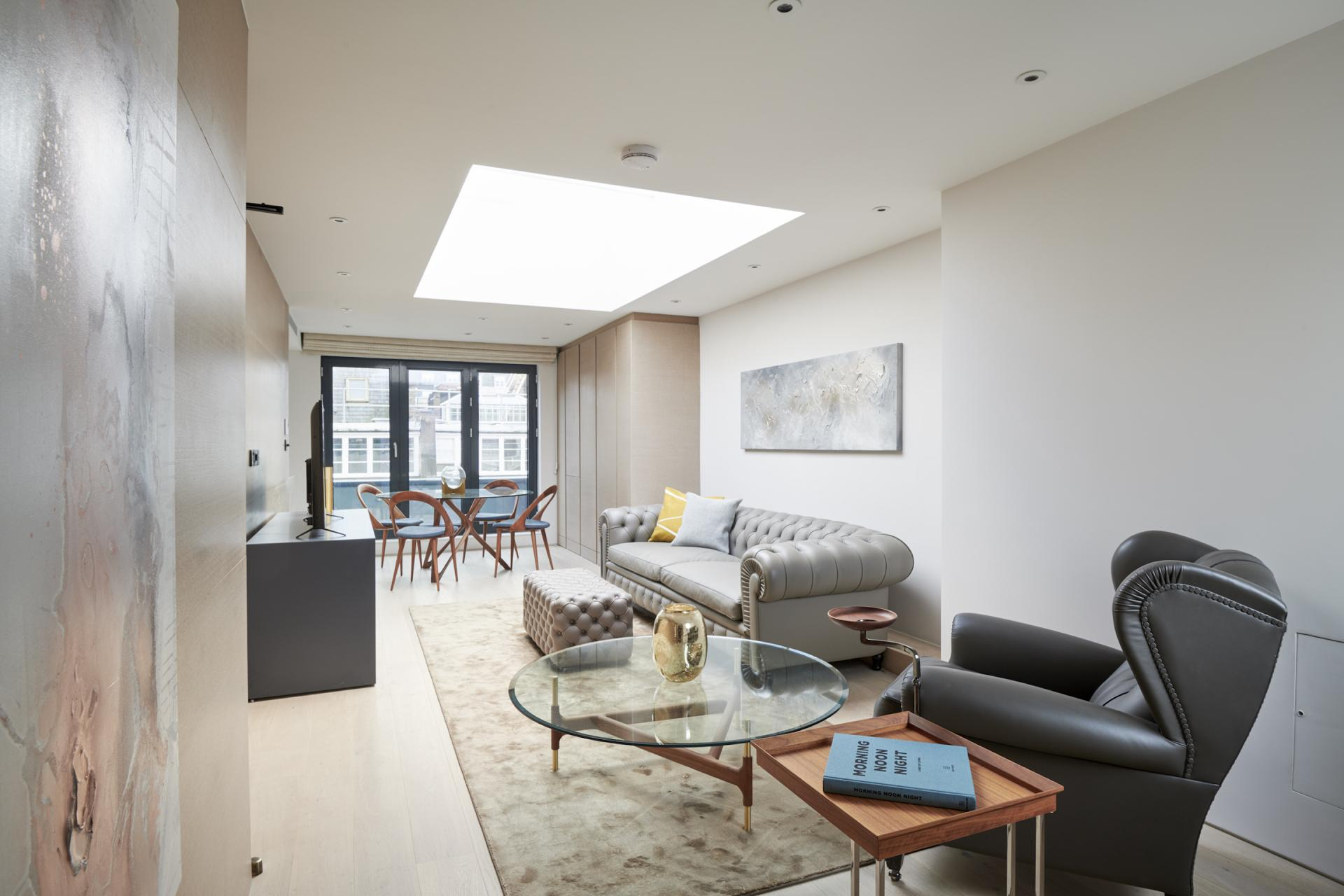 Open-plan at Maddox Suites, Carnaby, London - Citybase Apartments