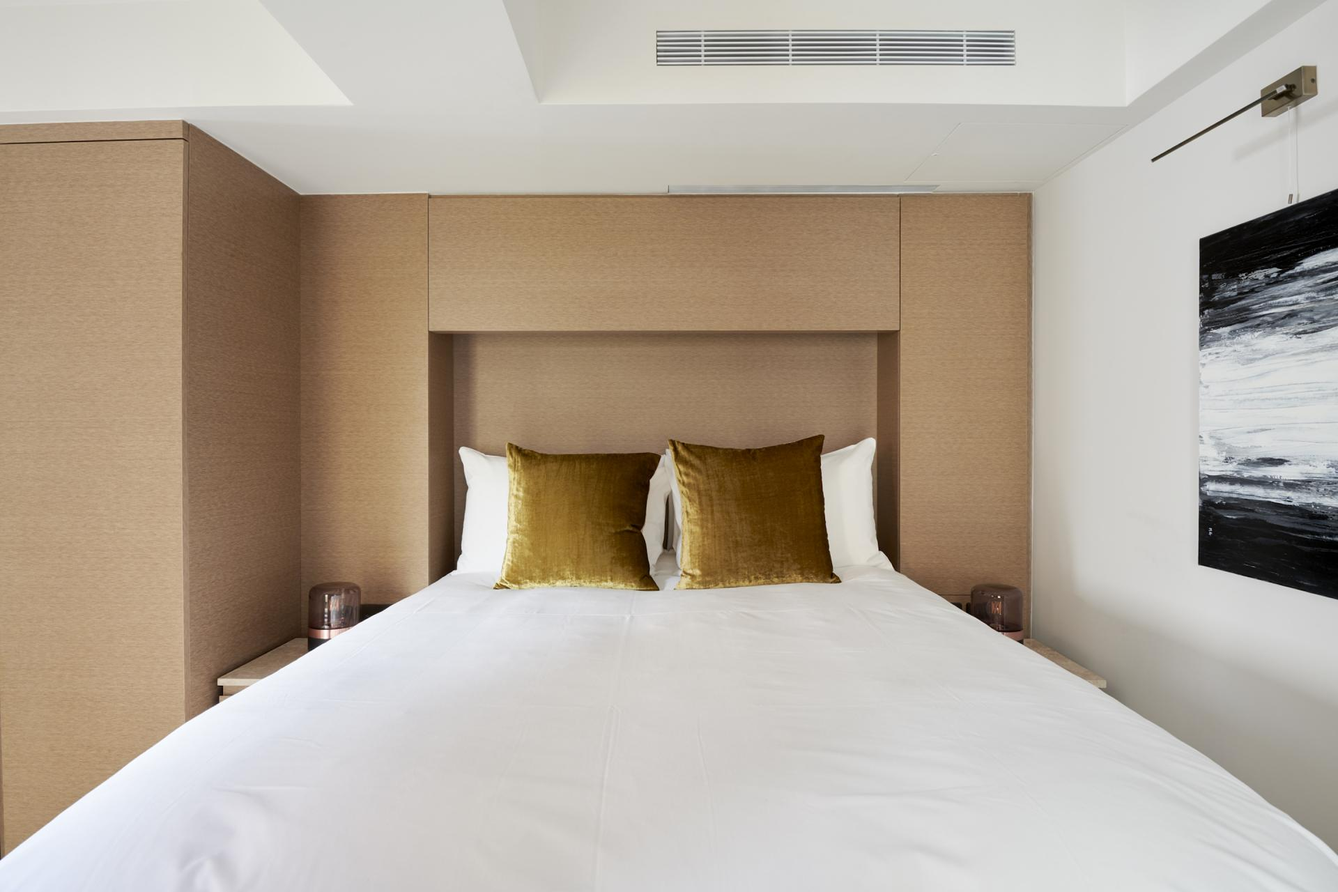 Bedding at Maddox Suites, Carnaby, London - Citybase Apartments