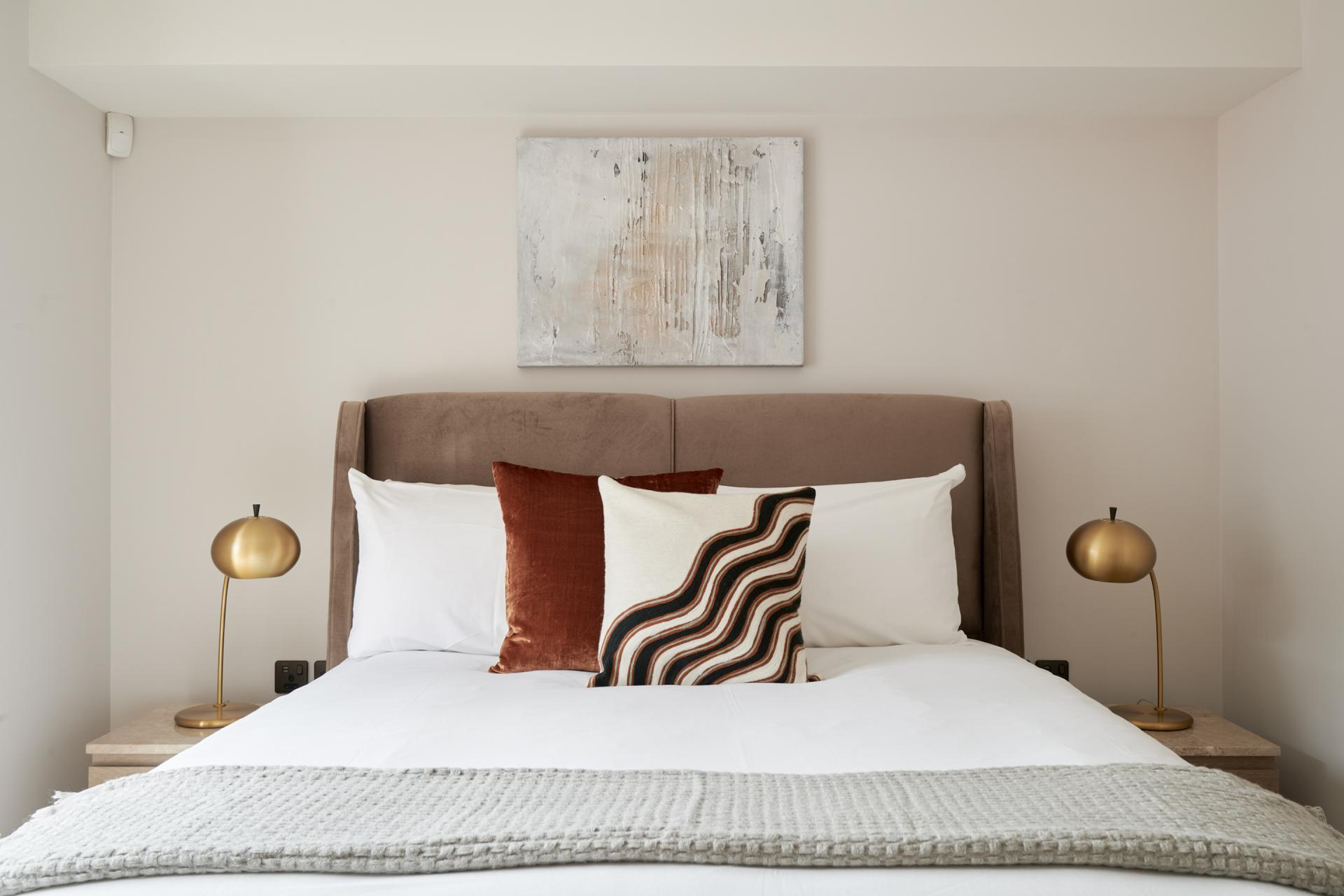 Cushions at Maddox Suites, Carnaby, London - Citybase Apartments