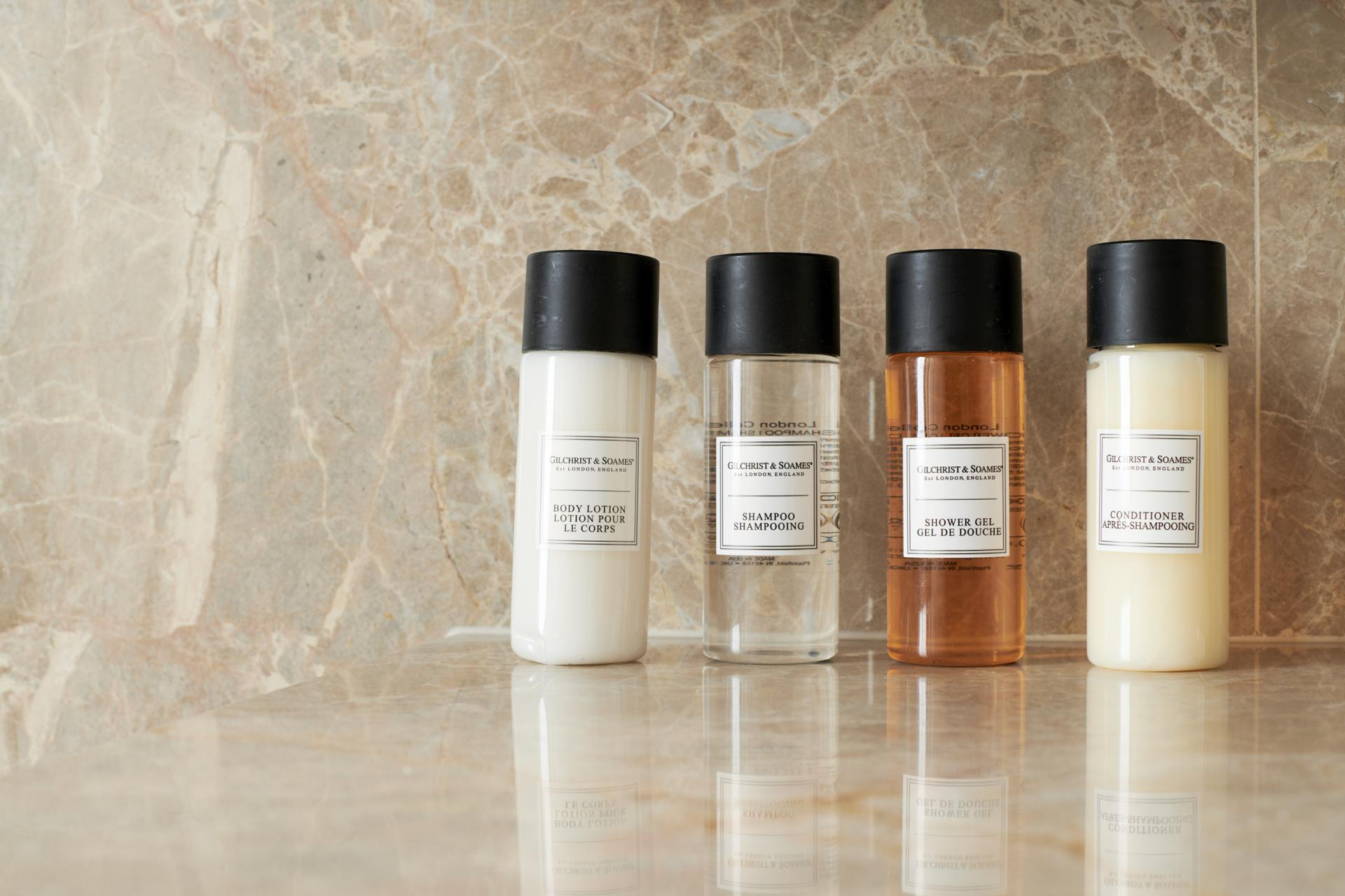 Toiletries at SinglMaddox Suites, Carnaby, London - Citybase Apartments
