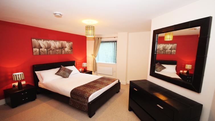 Bedroom at Merchants Quay Apartments - Citybase Apartments