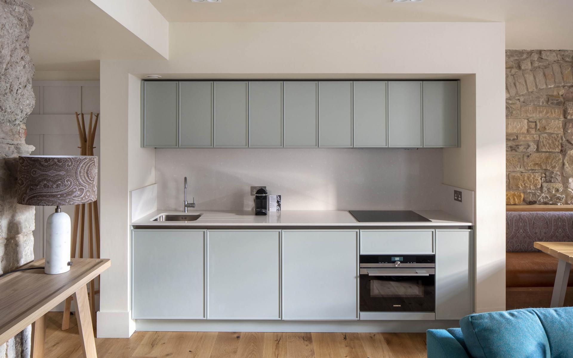 Kitchen at Cheval Abbey Strand, Old Town, Edinburgh - Citybase Apartments