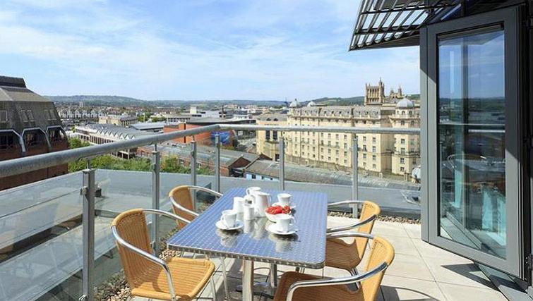 Balcony in SACO Bristol - Broad Quay - Citybase Apartments