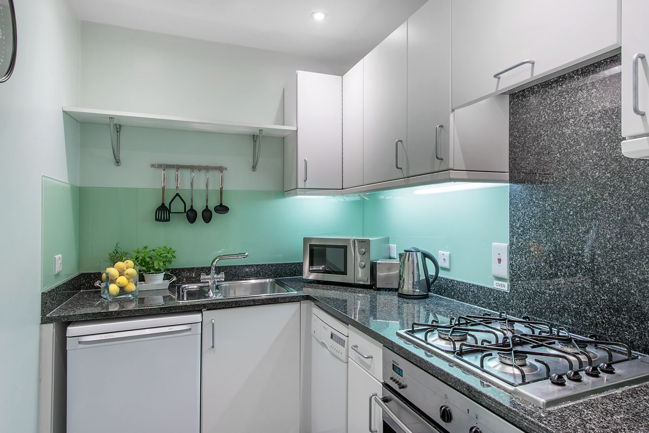 Kitchen at Chelsea - Draycott Place Apartments, Chelsea, London - Citybase Apartments