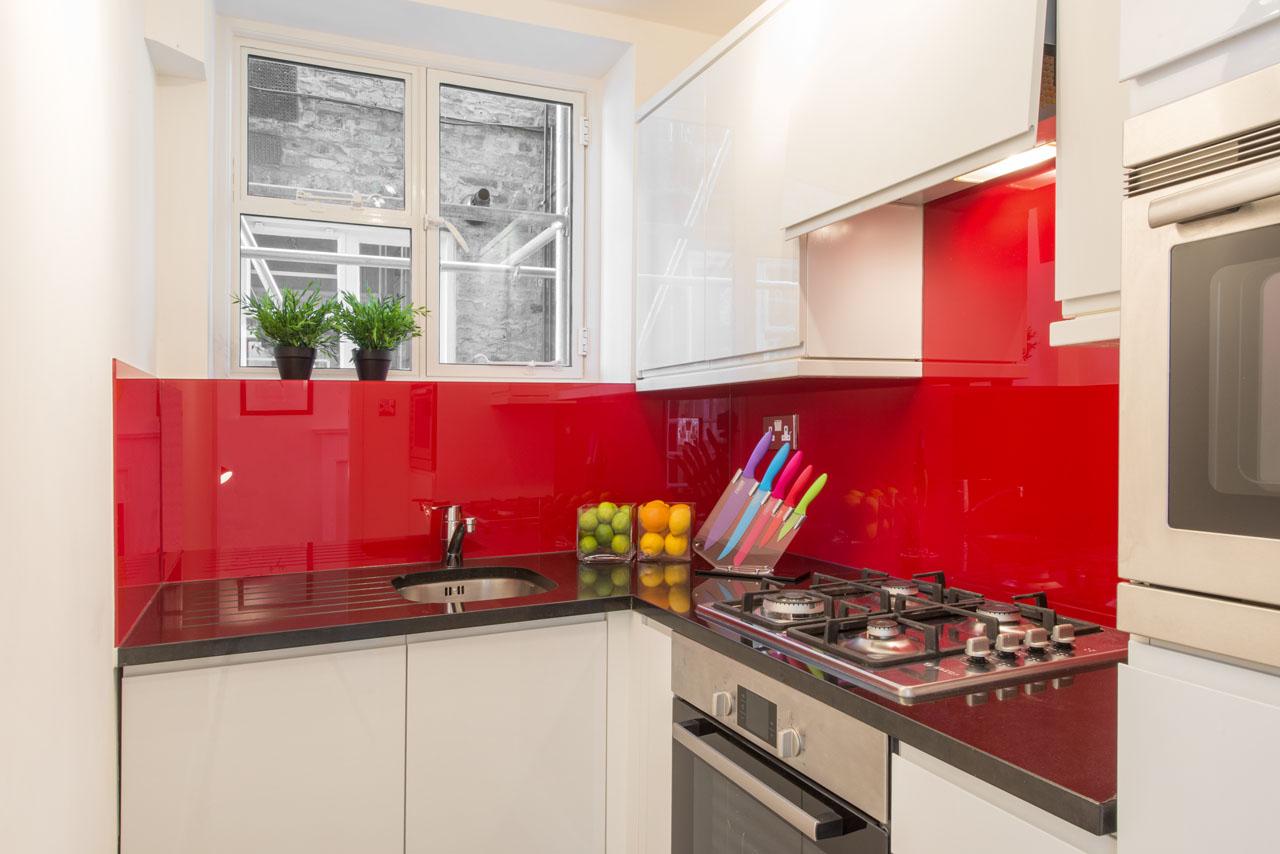 Kitchen at Chelsea - West House Apartment, Chelsea, London - Citybase Apartments