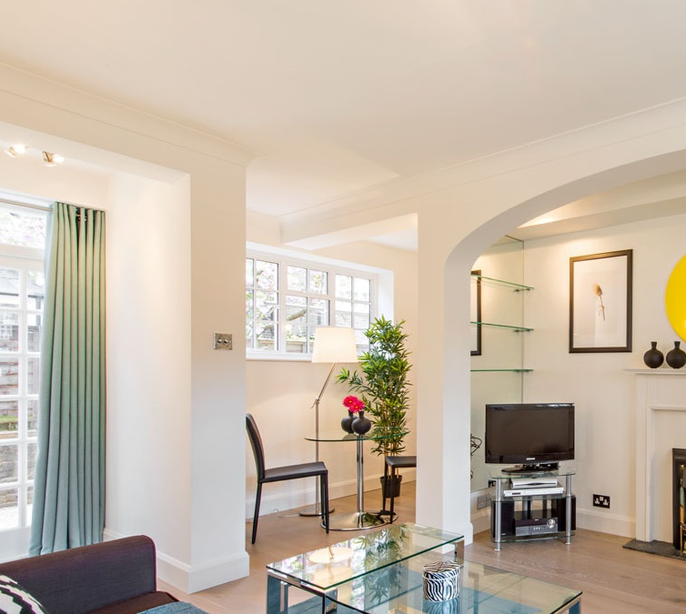 TV at Chelsea - West House Apartment, Chelsea, London - Citybase Apartments