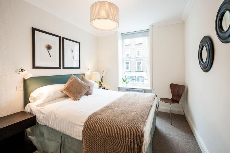 Bedroom at Marylebone - Chiltern Street Apartments, Marylebone, London - Citybase Apartments