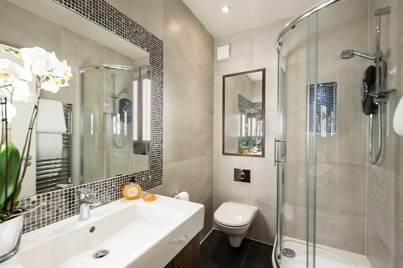 Bathroom at Marylebone - Chiltern Street Apartments, Marylebone, London - Citybase Apartments