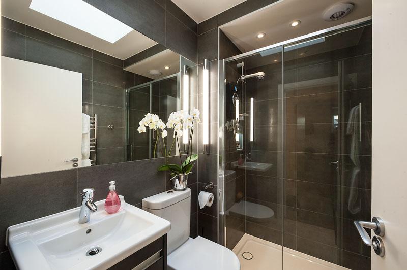 Shower at Marylebone - Chiltern Street Apartments, Marylebone, London - Citybase Apartments