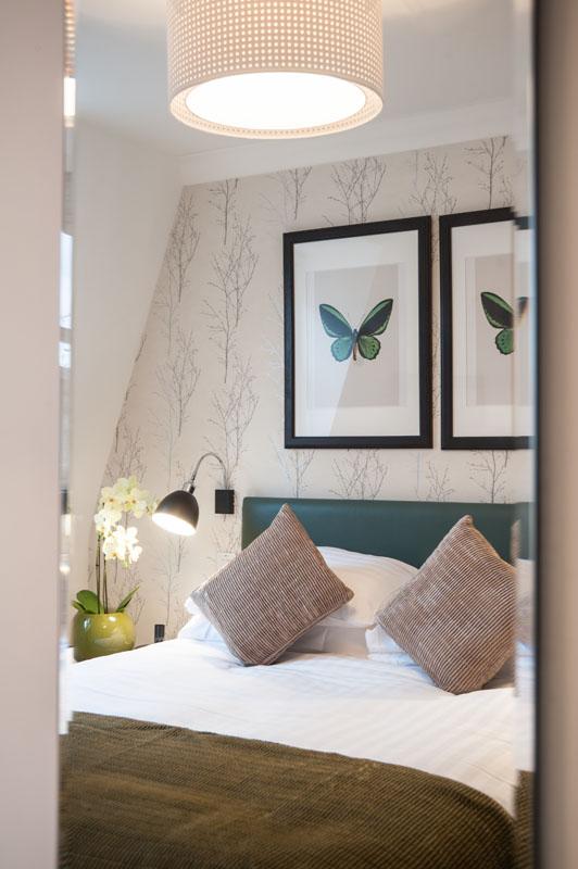 Bed at Marylebone - Chiltern Street Apartments, Marylebone, London - Citybase Apartments