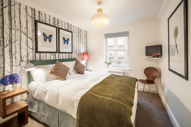 Double bedroom at Marylebone - Chiltern Street Apartments, Marylebone, London - Citybase Apartments